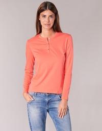 Textil Ženy Trička s dlouhými rukávy BOTD EBISCOL Oranžová