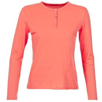Textil Ženy Trička s dlouhými rukávy BOTD EBISCOL Korálová