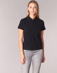 Textil Ženy Polo s krátkými rukávy BOTD ECLOVERA Černá