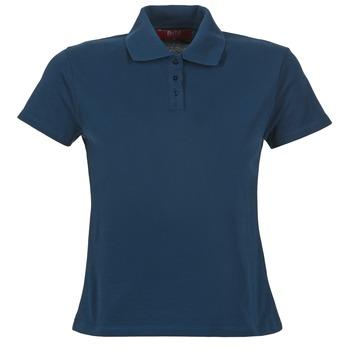 Textil Ženy Polo s krátkými rukávy BOTD ECLOVERA Tmavě modrá