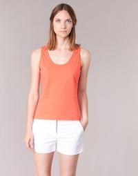 Textil Ženy Tílka / Trička bez rukávů  BOTD EDEBALA Oranžová