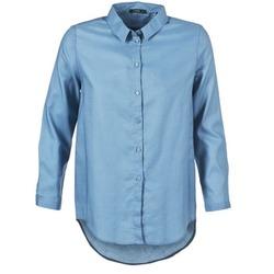 Textil Ženy Košile / Halenky School Rag CHELSY Modrá