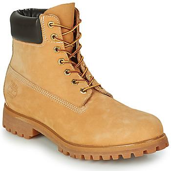 Boty Muži Kotníkové boty Timberland PREMIUM BOOT 6'' Zlatohnědá