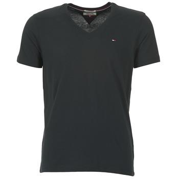 Textil Muži Trička s krátkým rukávem Tommy Jeans MALATO Černá
