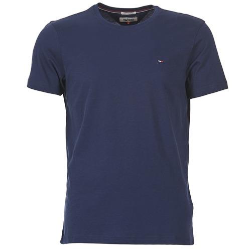 Textil Muži Trička s krátkým rukávem Tommy Jeans OFLEKI Tmavě modrá