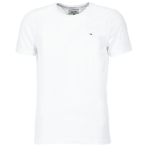 Textil Muži Trička s krátkým rukávem Tommy Jeans OFLEKI Bílá