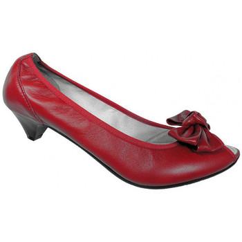 Boty Ženy Lodičky Keys  Červená