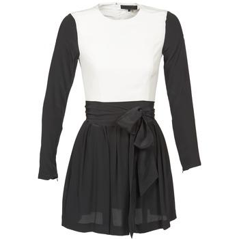 Textil Ženy Krátké šaty American Retro STANLEY Černá / Bílá