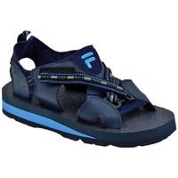 Boty Muži Sandály Fila  Modrá