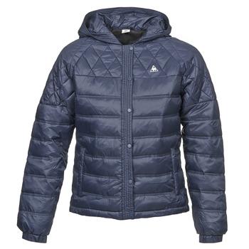 Textil Ženy Prošívané bundy Le Coq Sportif FANTAISIE DIBONA Tmavě modrá