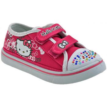 Boty Děti Nízké tenisky Hello Kitty  Růžová