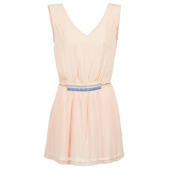 Textil Ženy Krátké šaty Moony Mood EARINE Růžová
