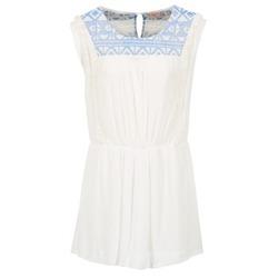 Textil Ženy Krátké šaty Moony Mood EBENE Bílá