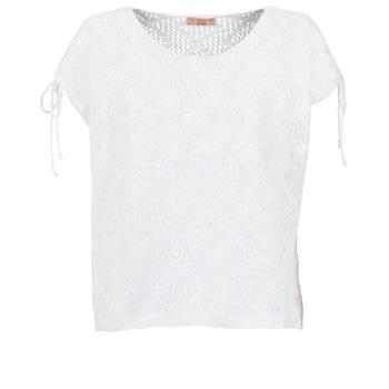 Textil Ženy Halenky / Blůzy Moony Mood EDDA Krémově bílá