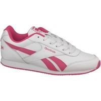 Boty Ženy Nízké tenisky Reebok Sport Royal CL Jogger 2 V70489 Bílý,Růžový