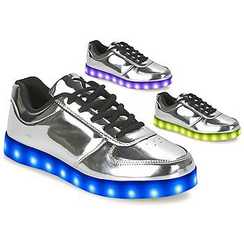 Boty Ženy Nízké tenisky Wize & Ope THE LIGHT Stříbrná