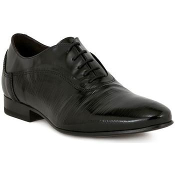 Boty Muži Šněrovací společenská obuv Eveet RITOS RES MASON Nero