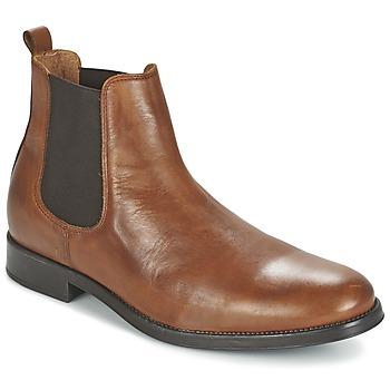 Selected Kotníkové boty SHDOLIVER CHELSEA BOOT NOOS - Hnědá