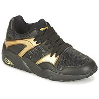 Boty Ženy Nízké tenisky Puma BLAZE GOLD WN'S Černá / Zlatá