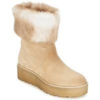 Boty Ženy Kotníkové boty Nome Footwear MOVETTA Béžová