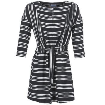Textil Ženy Krátké šaty Loreak Mendian PILI Černá / Bílá