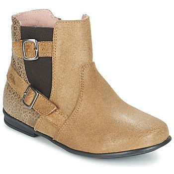 Boty Dívčí Kotníkové boty Aster DESIA Béžová