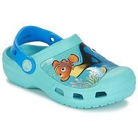 Boty Děti Pantofle Crocs CC DORY CLOG Modrá