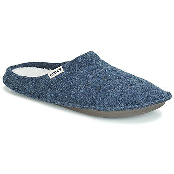 Boty Papuče Crocs CLASSIC SLIPPER Tmavě modrá