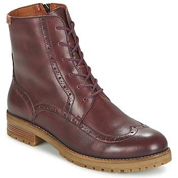 Pikolinos Kotníkové boty SANTANDER W4J - Červená