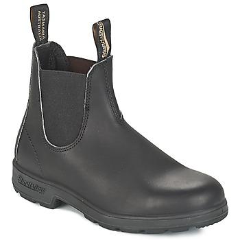 Boty Kotníkové boty Blundstone CLASSIC BOOT Černá / Hnědá