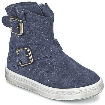 Boty Dívčí Kotníkové boty Acebo's MOULLY Modrá