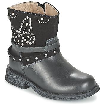Boty Dívčí Kotníkové boty Garvalin GENILA Černá