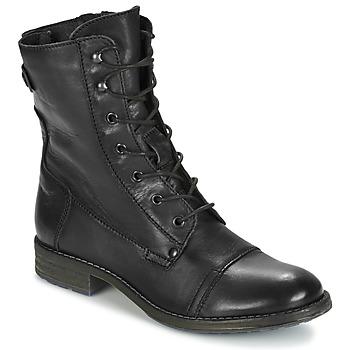 Mustang Kotníkové boty ZITOLA - Černá