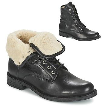Boty Ženy Kotníkové boty Mustang SABORA Černá