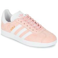 Boty Ženy Nízké tenisky adidas Originals GAZELLE Růžová