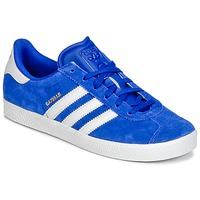 Boty Chlapecké Nízké tenisky adidas Originals GAZELLE 2 J Modrá