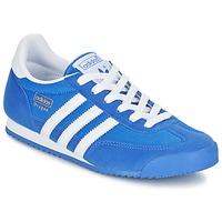 Boty Chlapecké Nízké tenisky adidas Originals DRAGON J Modrá
