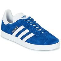 Boty Nízké tenisky adidas Originals GAZELLE Modrá