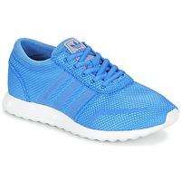 Boty Chlapecké Nízké tenisky adidas Originals LOS ANGELES J Modrá