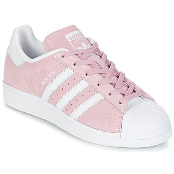 adidas Tenisky SUPERSTAR W - Růžová