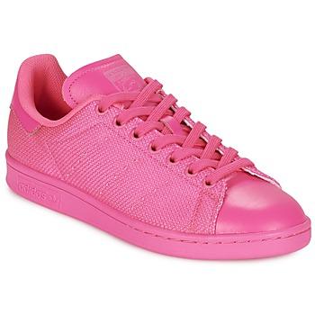 Boty Ženy Nízké tenisky adidas Originals STAN SMITH Růžová