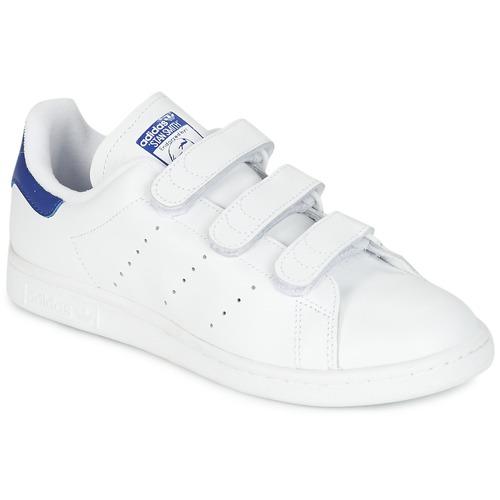 adidas Originals STAN SMITH CF Bílá   Modrá - Doručení zdarma se ... 67f78f403f