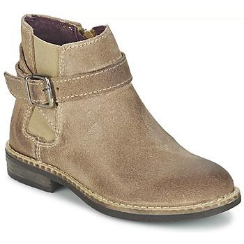 Boty Dívčí Kotníkové boty Mod'8 NEL Béžová