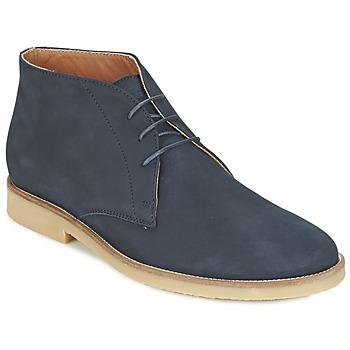 Boty Muži Kotníkové boty Hackett CHUKKA BOOT Tmavě modrá