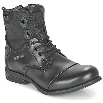 Boty Ženy Kotníkové boty Bunker SARA Černá