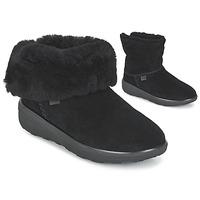 Boty Ženy Kotníkové boty FitFlop MUKLUK SHORTY 2 BOOTS Černá