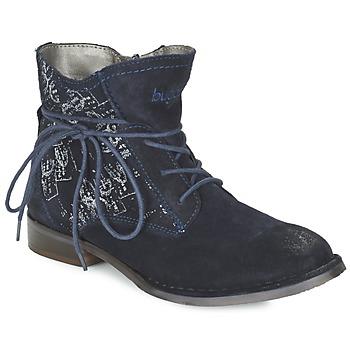 Boty Ženy Kotníkové boty Bugatti LEEALE Tmavě modrá