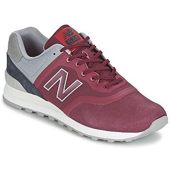 Boty Nízké tenisky New Balance MTL574 Červená / Šedá