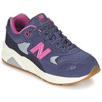 Boty Dívčí Nízké tenisky New Balance KL580 Fialová / Růžová