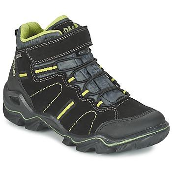 Boty Chlapecké Kotníkové boty Primigi JACKSON Černá / Zelená